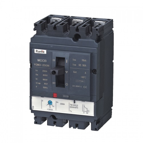 YCM3 Moulded Case Circuit Breaker - Thermal magnetic