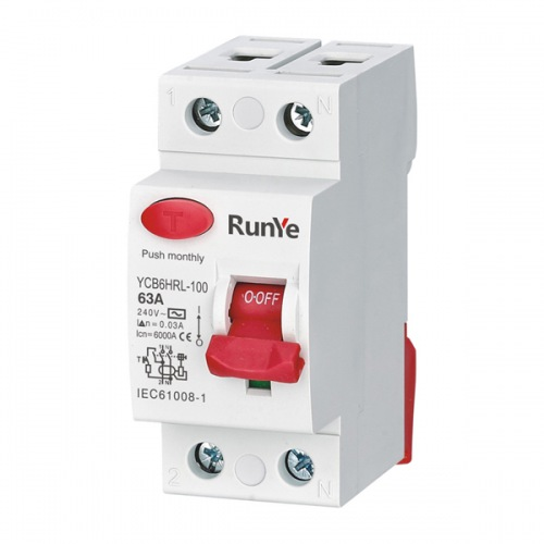 YCB6HRL-100 Residual Current Circuit Breaker