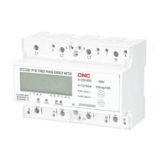 DTS726D-7P Three-phase Din-rail Multi-function Energy Meter